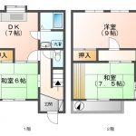 川合3  賃貸テラスハウス